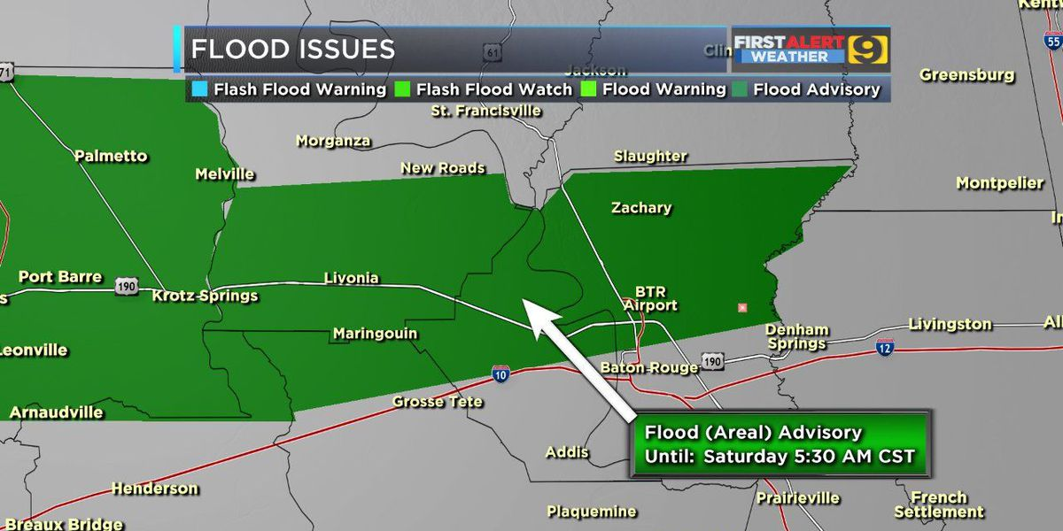 FIRST ALERT WEATHER: Marginal to slight risk of more storms remainfor the WAFB area