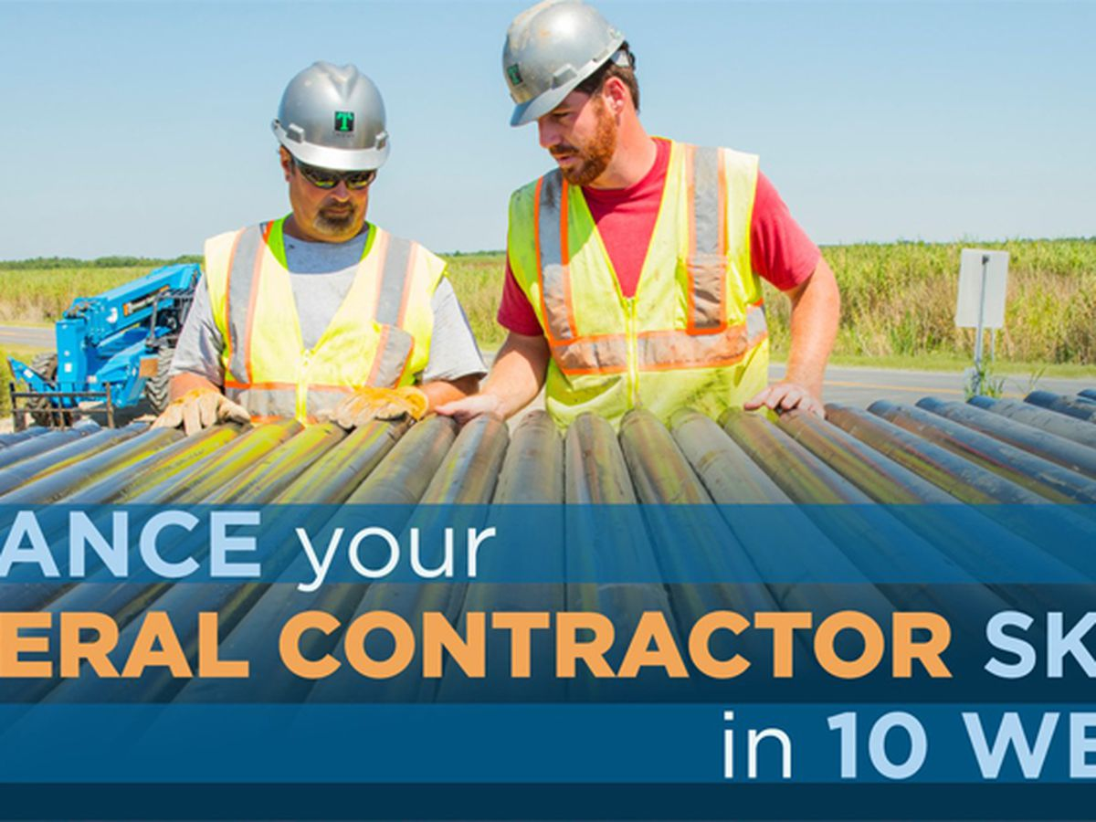 Louisiana course for general contractors opens registration