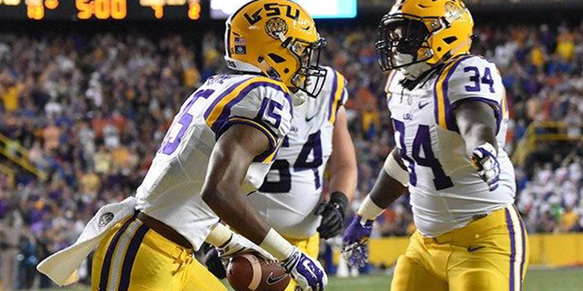 LSU ranked No. 16 in final AP Top 25 Poll