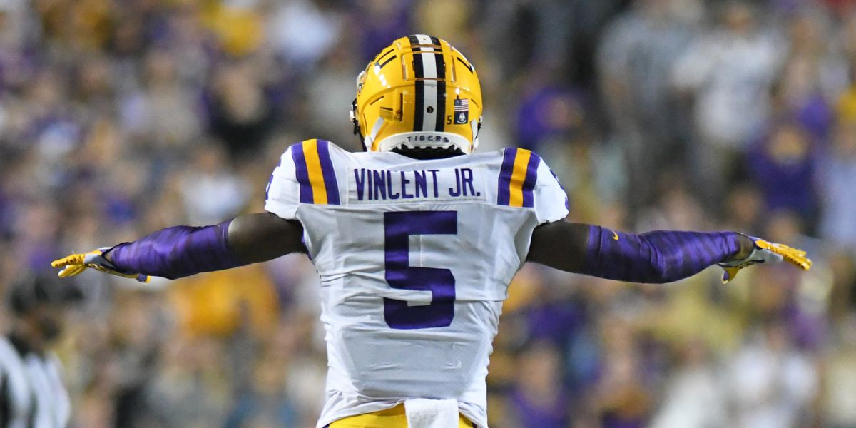 2021 NFL Draft: LSU DB Kary Vincent Jr. taken in 7th round, No. 237 overall by Denver Broncos
