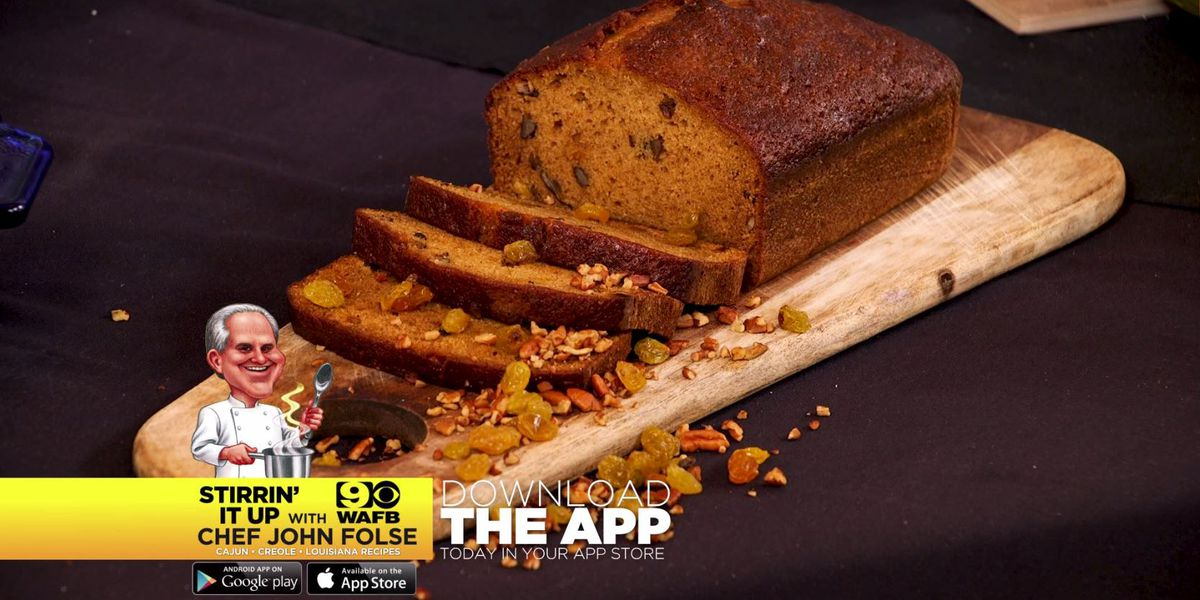 Pumpkin and Pecan Bread
