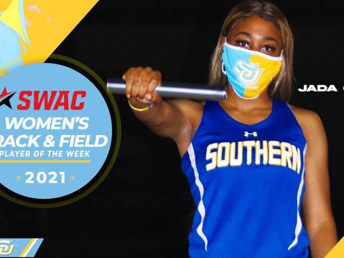 Southern's Jada Childers named SWAC Women's Track Athlete of the Week
