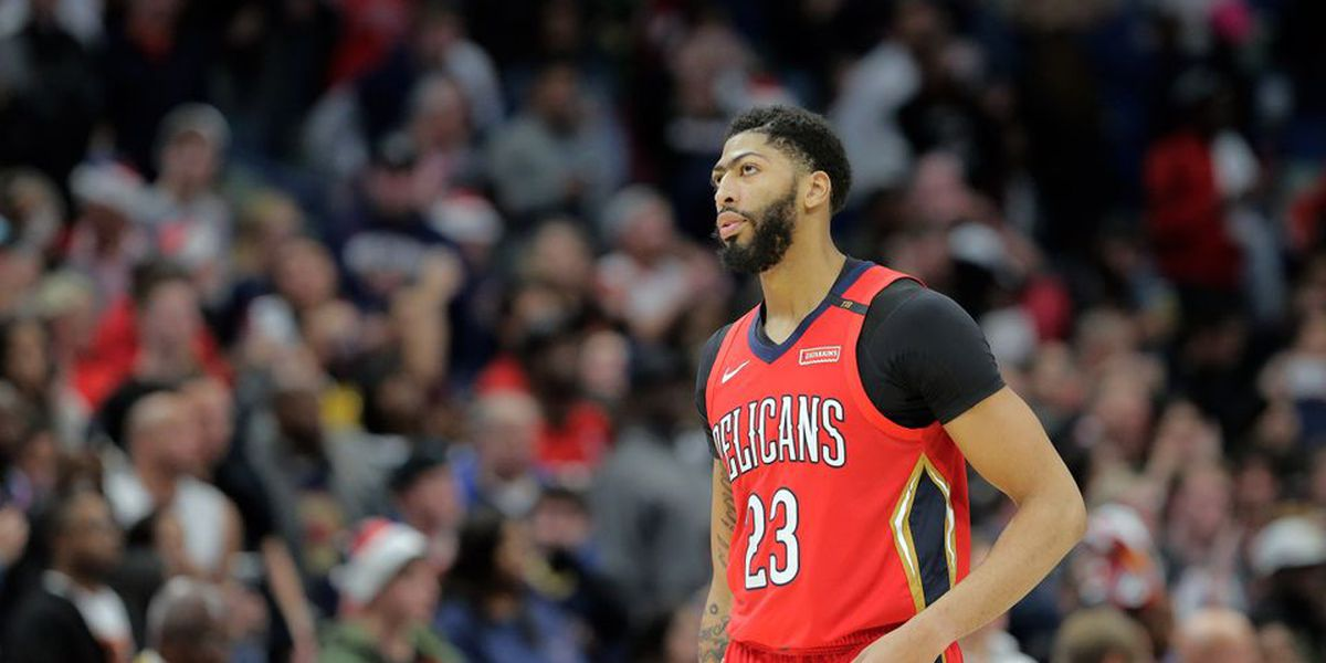 Anthony Davis fined 50K by NBA for trade request made by his agent