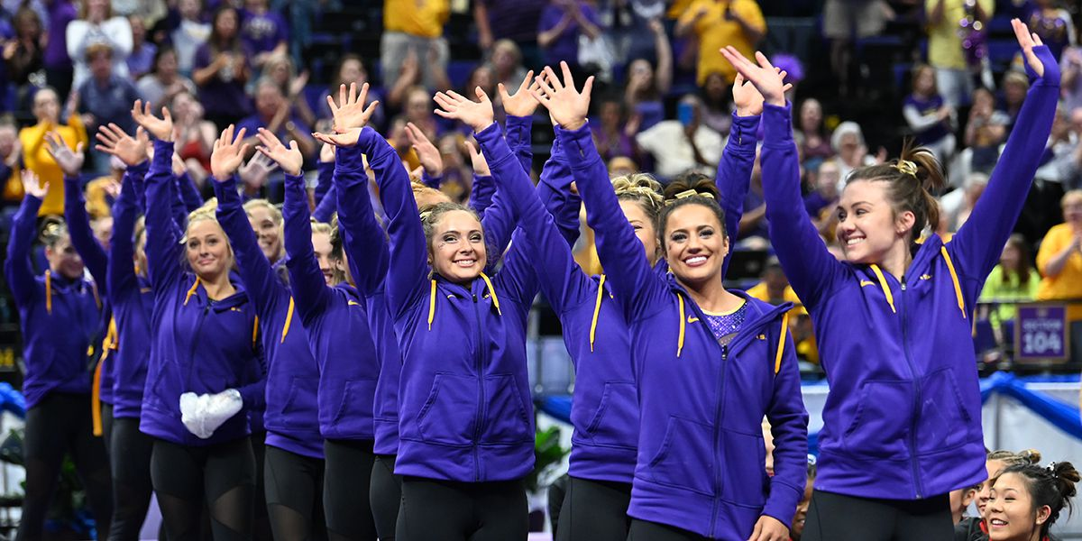 No. 3 LSU gymnastics wins Baton Rouge Regional, advances to NCAA Championships