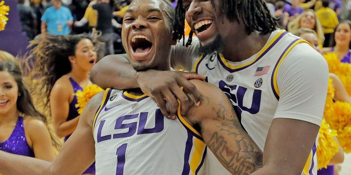 0fff54cecd74 LSU s Javonte Smart cleared for SEC tournament play