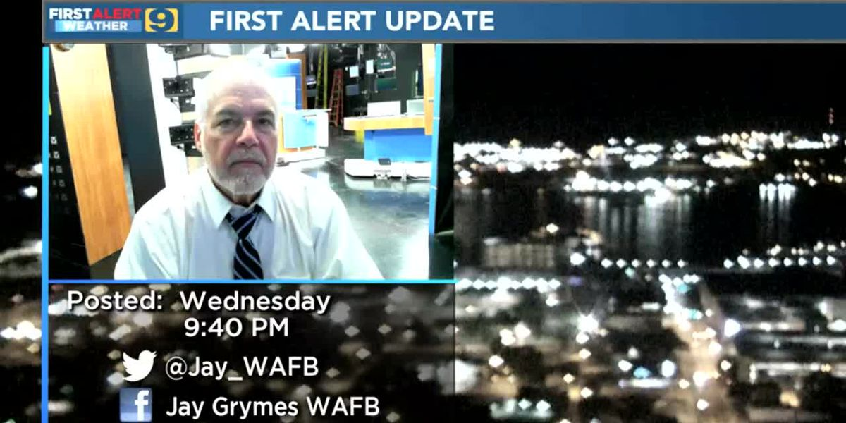 WAFB First Alert Weather Wed, April 1