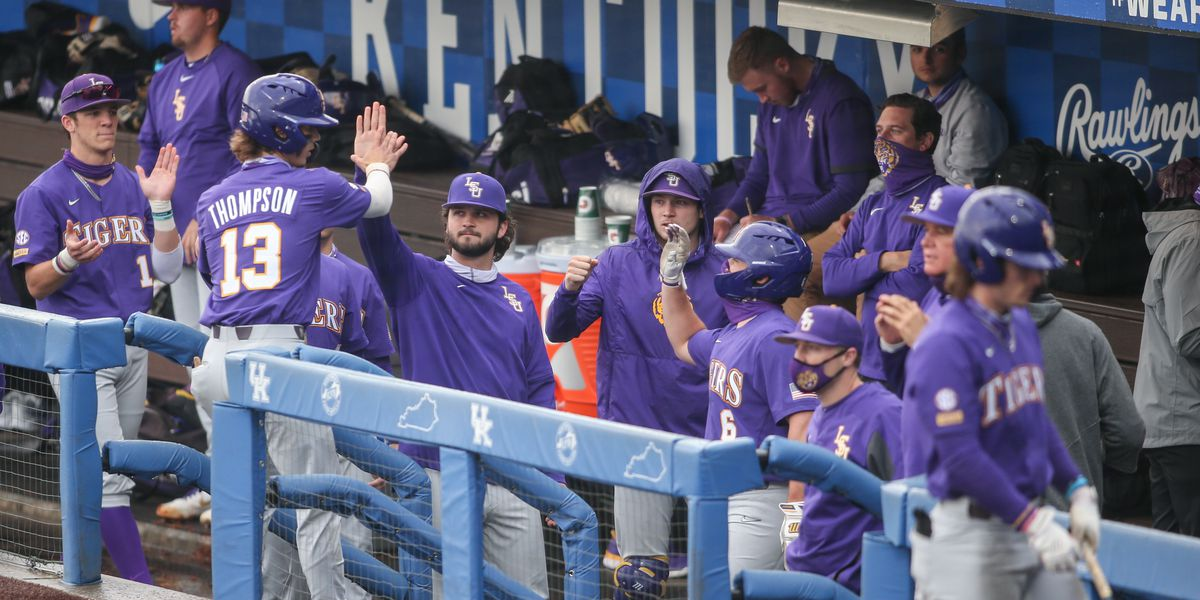 LSU holds on 8-6 to beat Kentucky, win first SEC series of the season