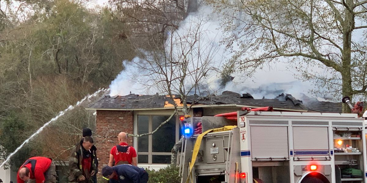 Person trapped under debris in critical condition following $1.5M house fire