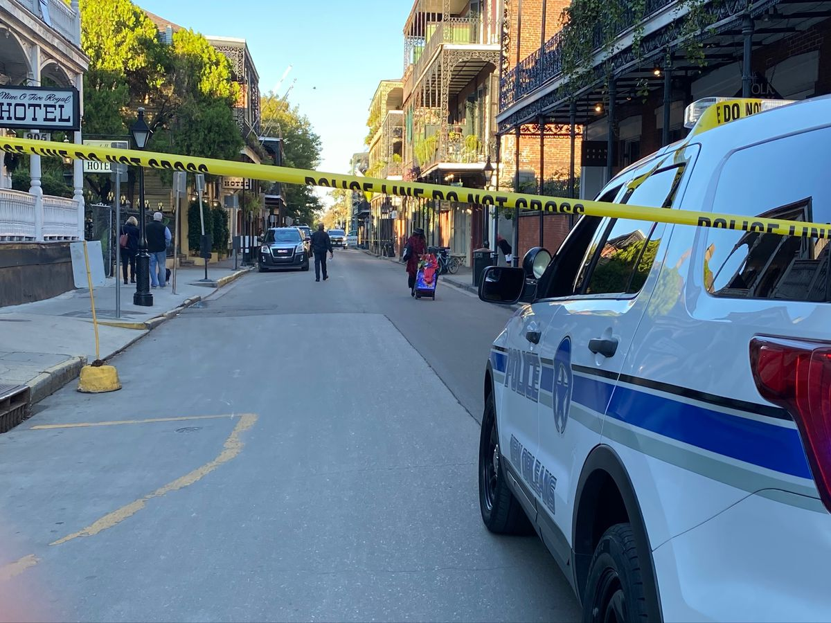 Two NOPD officers ambushed, shot in French Quarter; suspect apprehended