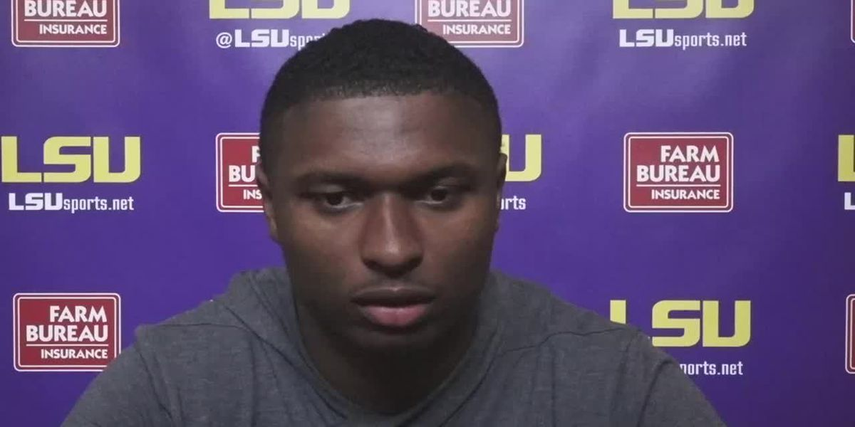 LSU Safety JaCoby Stevens - 9/29/20 (Full Interview)