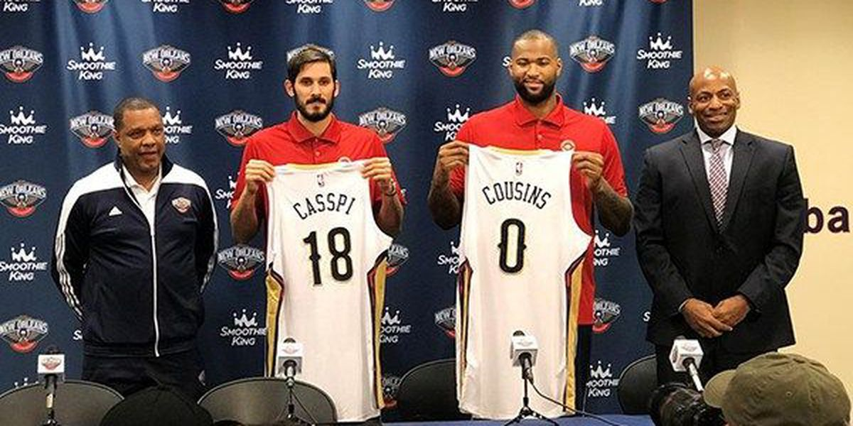 Casspi breaks thumb in Pelicans debut, out about 4 weeks