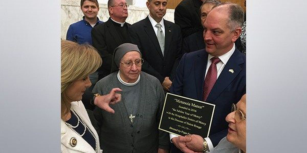 Gov. Edwards meets Pope Francis