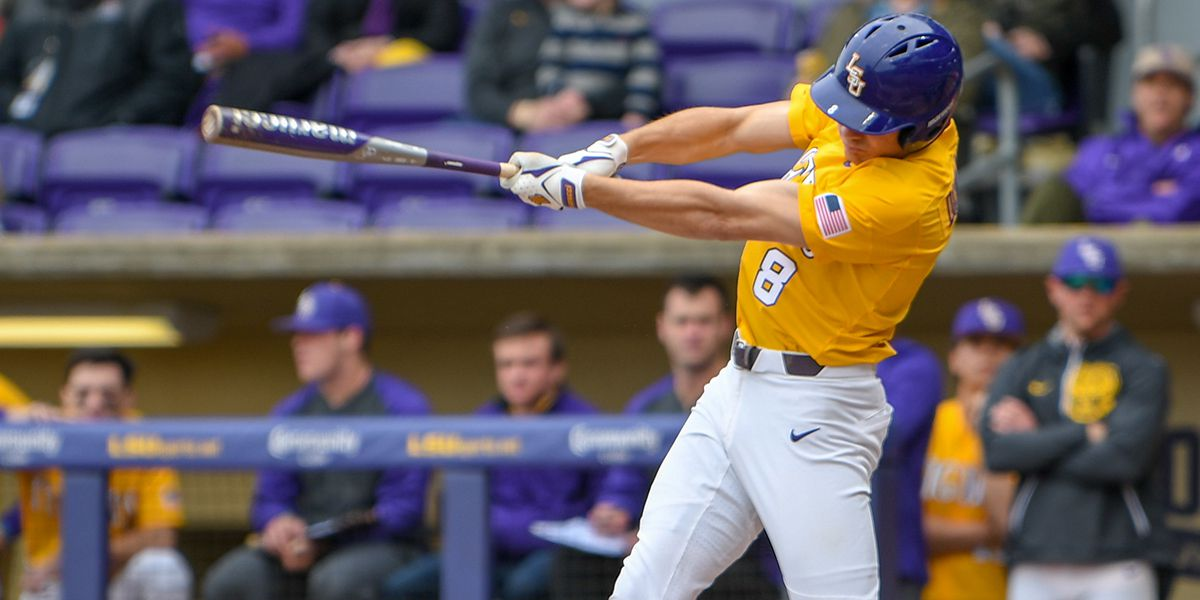 LSU baseball run rules Mississippi State in SEC Tournament