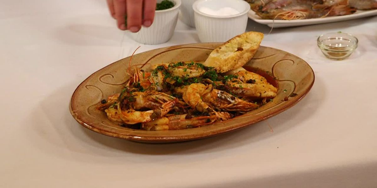 Stirrin' It Up: Shrimp in Pepper-Butter and Beer Sauce (June 4, 2019)