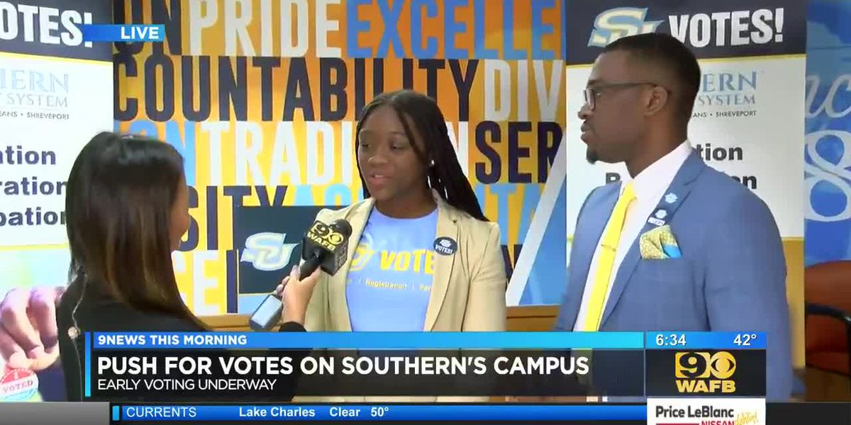 SU hosts 'Prowl to the Polls' to encourage students to early vote - 6:30 a.m.