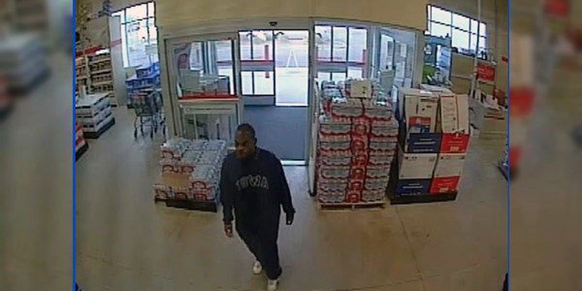 WANTED: Man sought for reportedly stealing from employee locker at Office Depot