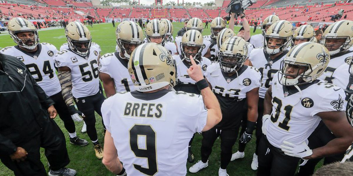 Saints can clinch a first-round playoff bye with a win and Bears loss