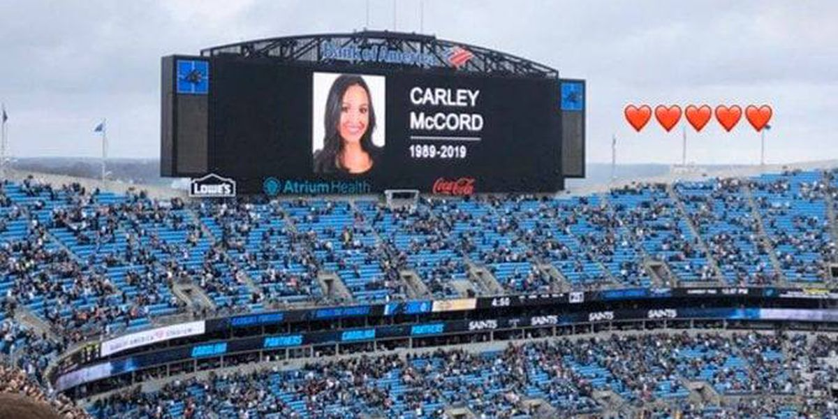 Carolina Panthers observe moment of silence for Lafayette plane crash victims during Saints game