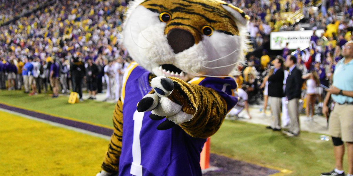 LSU, Rice: Times of interest