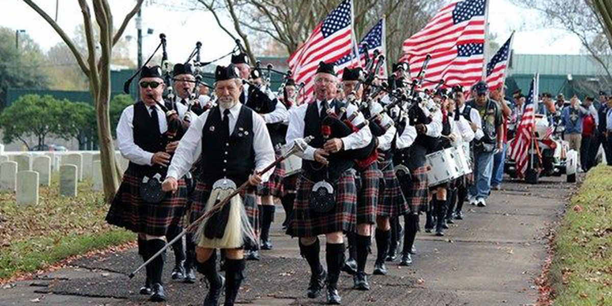 Baton Rouge Pipes and Drums to march in parade this weekend