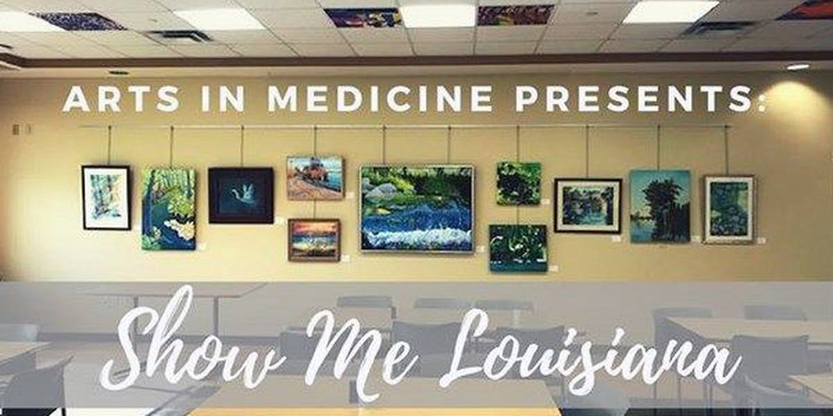 Therapy art on display at Baton Rouge General Café