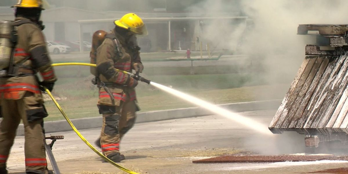 New firefighting system developed at LSU does not require water