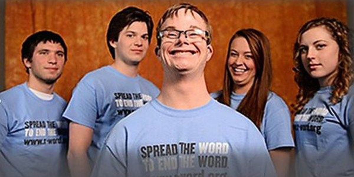 Special Olympics leads campaign to end the 'r-word'
