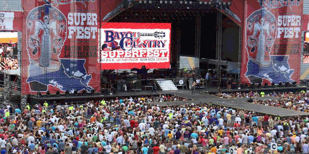 Bayou Country Superfest announces hiatus after 10 music festivals