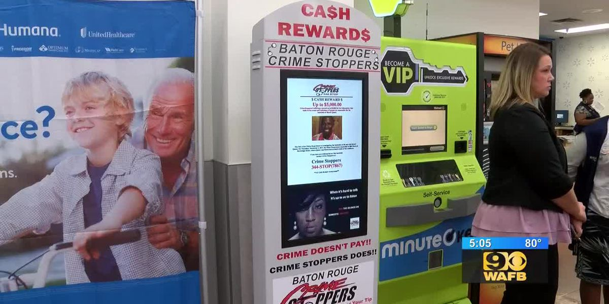 Crime Stoppers kiosks