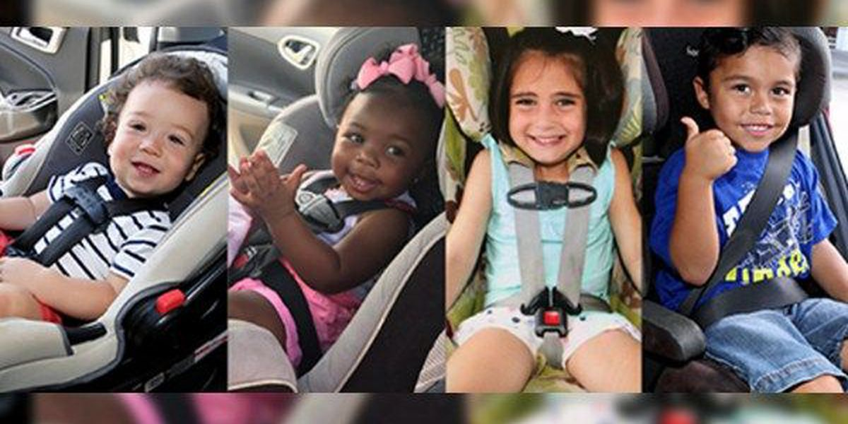 Free car seat installation event to be held December 2 in Baton Rouge