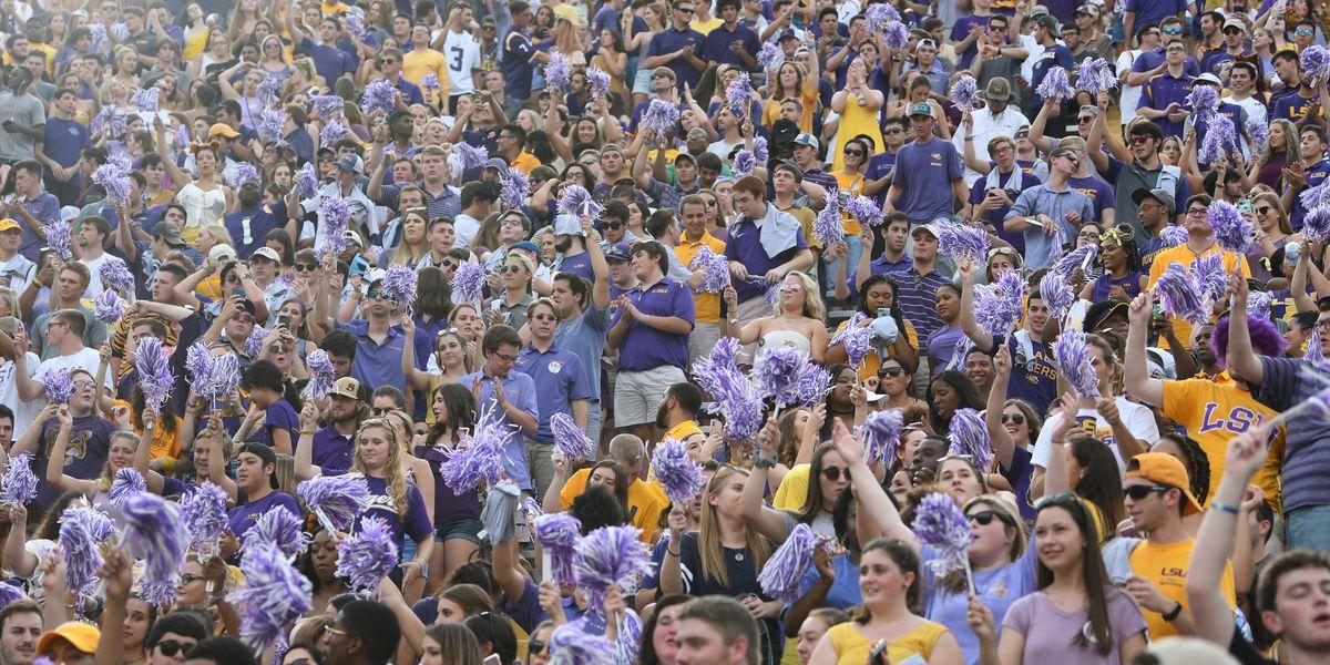 SEC sets 8:15 p.m. kickoff for LSU vs. Ole Miss