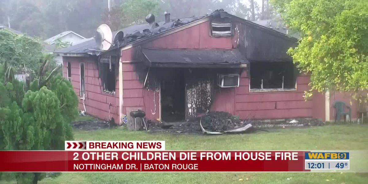 Two other children died from house fire on Nottingham Dr.