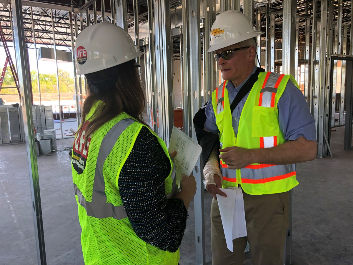 Sen. Cassidy tours new building at THRIVE Academy