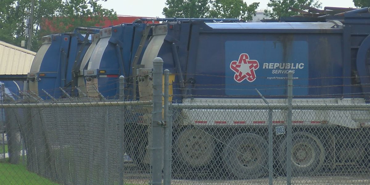 Republic Services says claims of missed pickups, lack of trucks, etc. 'not true'; mayor to hold press conference Wednesday