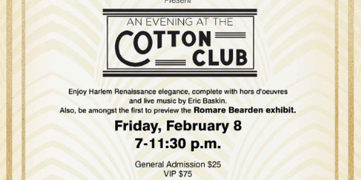 "SU Museum of Art to host ""An Evening at the Cotton Club"""
