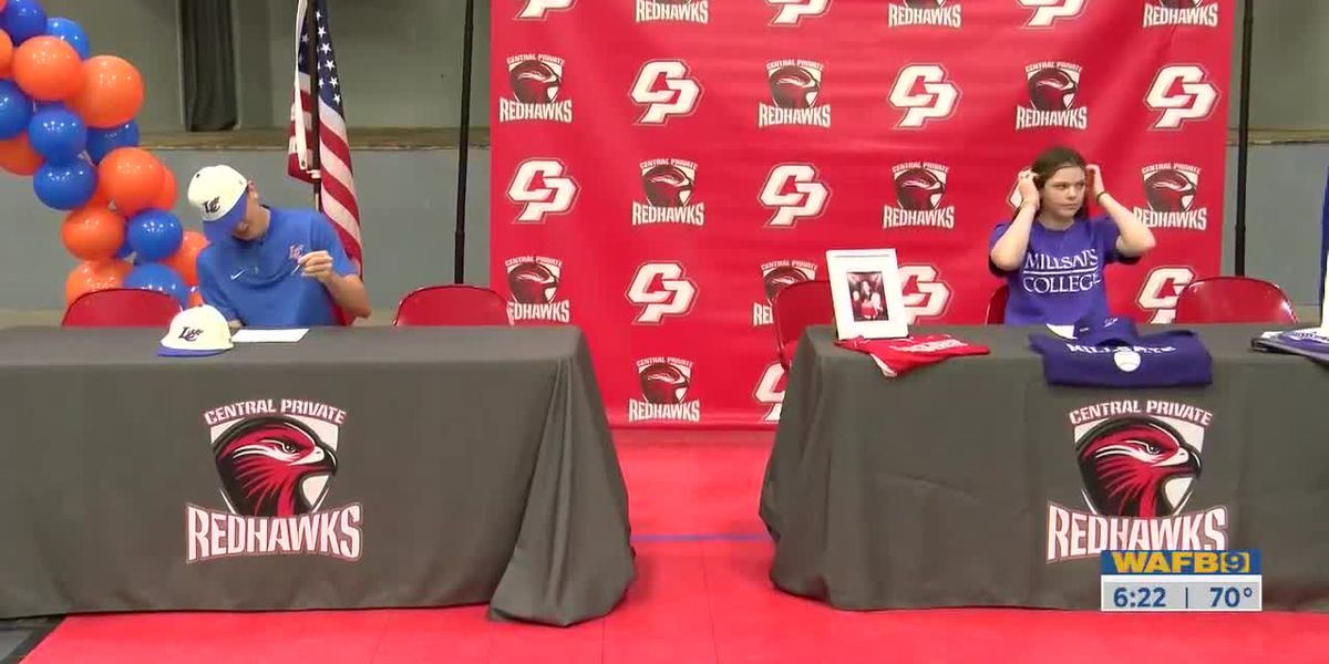 Central Private holds signing ceremony