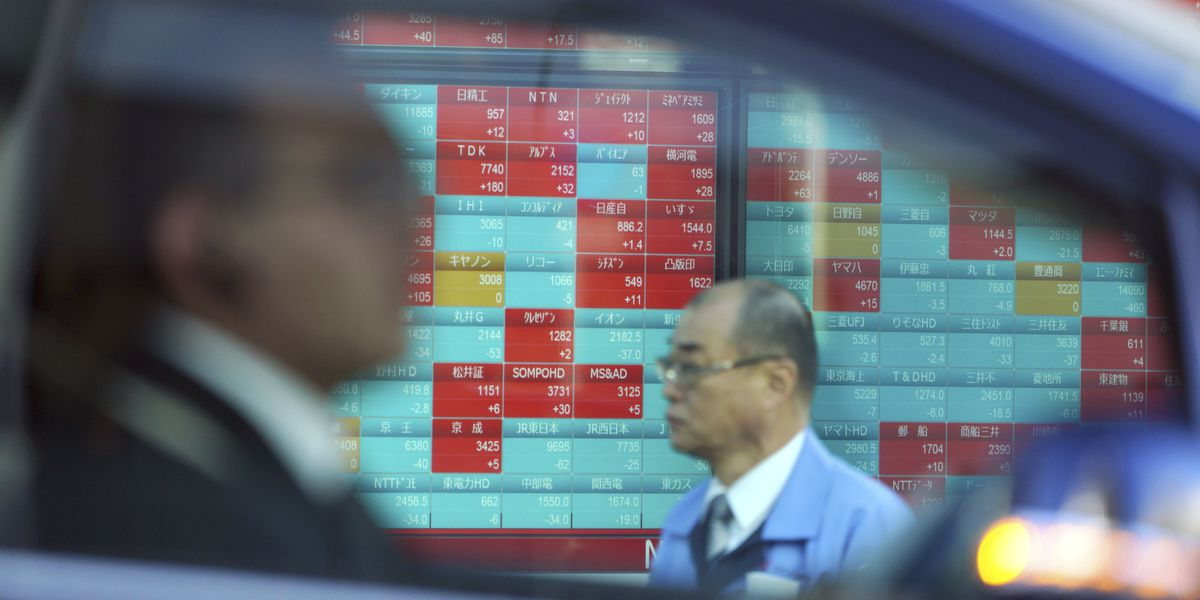 Global stocks gain after Wall Street rally, Japan falls