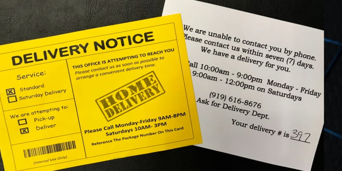 Be aware: Postcard scam popping up in time for the holidays