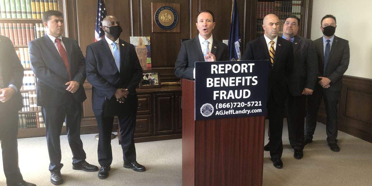 5 people in La. accused of unemployment benefits fraud related to COVID-19 pandemic