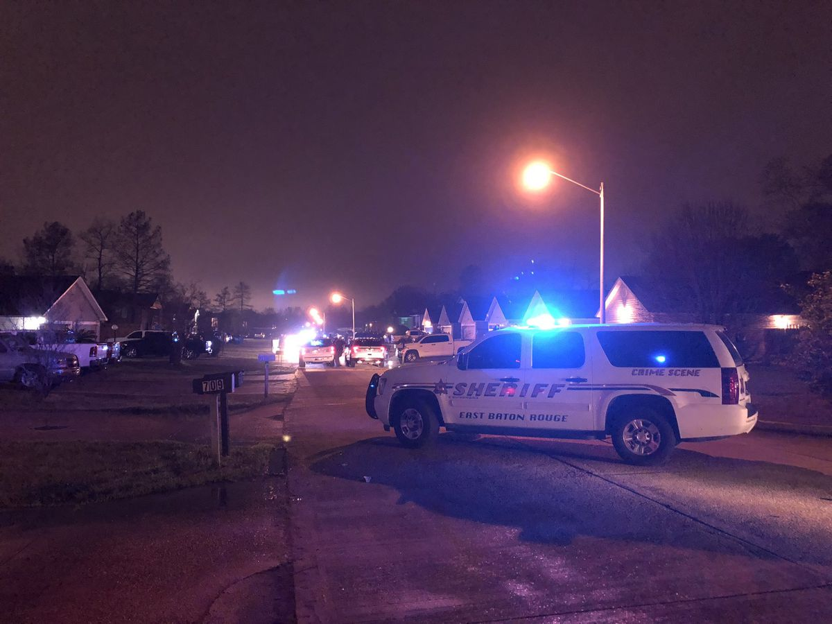 Man injured during alleged drive-by shooting on Hammond Manor Drive