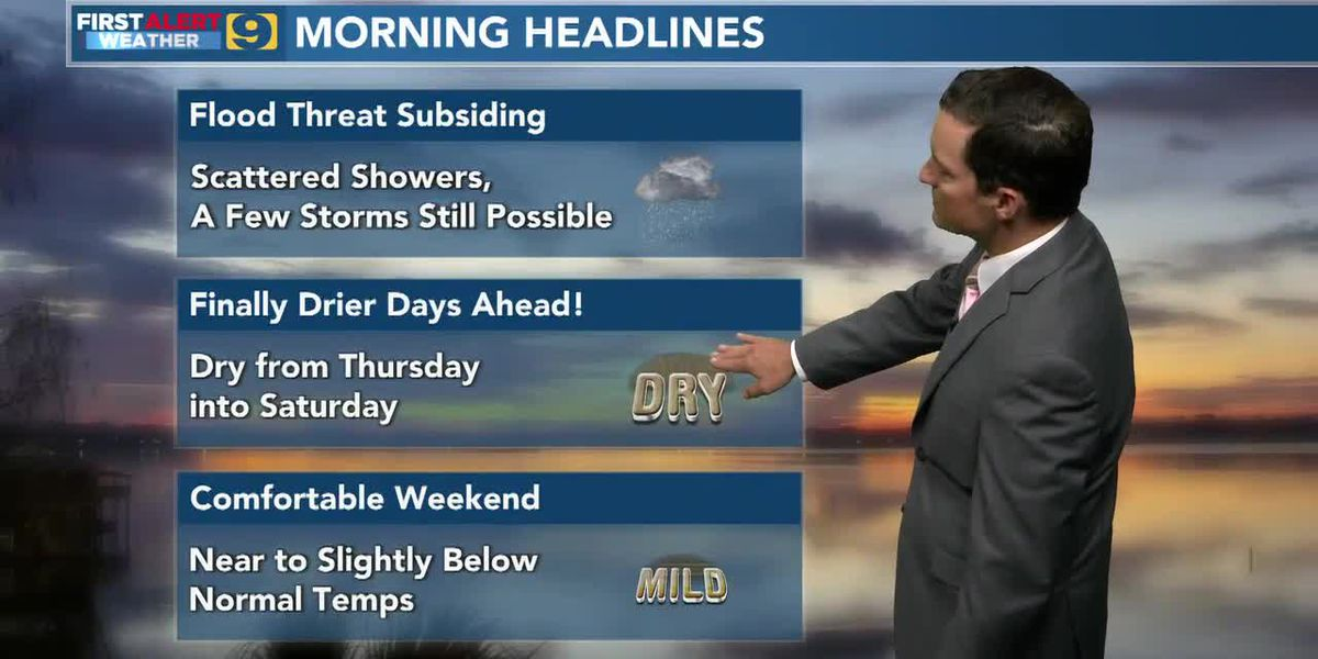FIRST ALERT FORECAST: Wednesday, May 12 - 6 a.m.