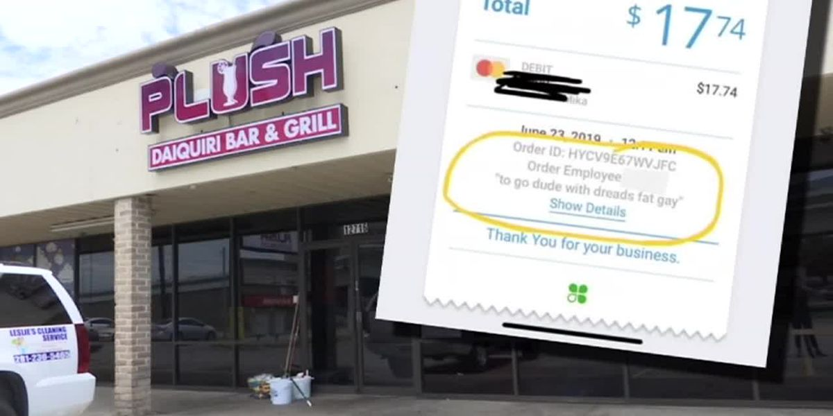 Customer says he was insulted, described as 'fat' on Houston restaurant receipt