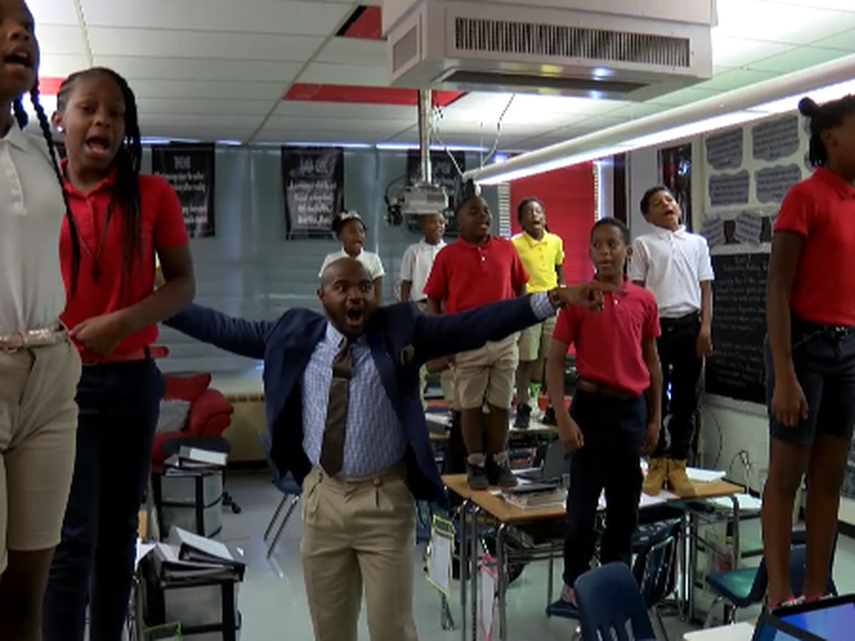 Celebrated educator sees success with his unique teaching style