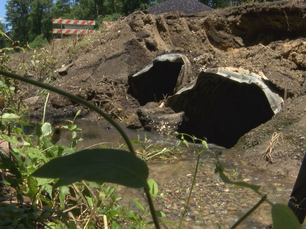 Greenwell Springs Road reopened after being washed out in heavy rain