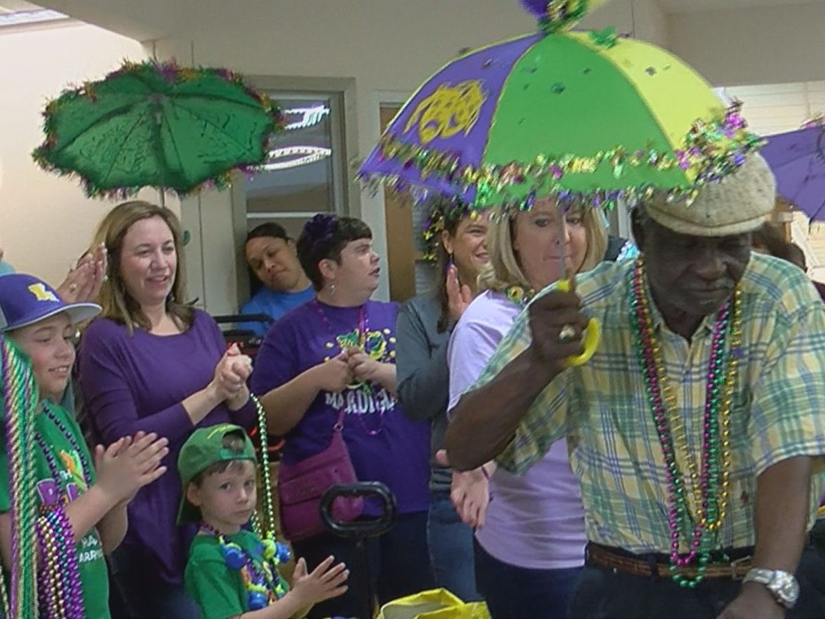 Krewe of Orion kicks off carnival with parade at St. Clare Manor nursing home
