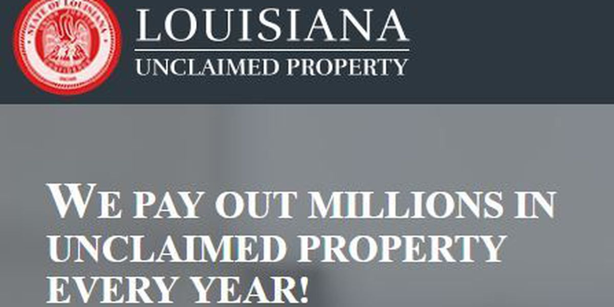 La. Treasury partners with state revenue department to pay $4M in unclaimed property claims