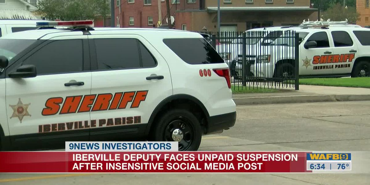 THE INVESTIGATORS: High-ranking deputy to be suspended without pay after insensitive social media post