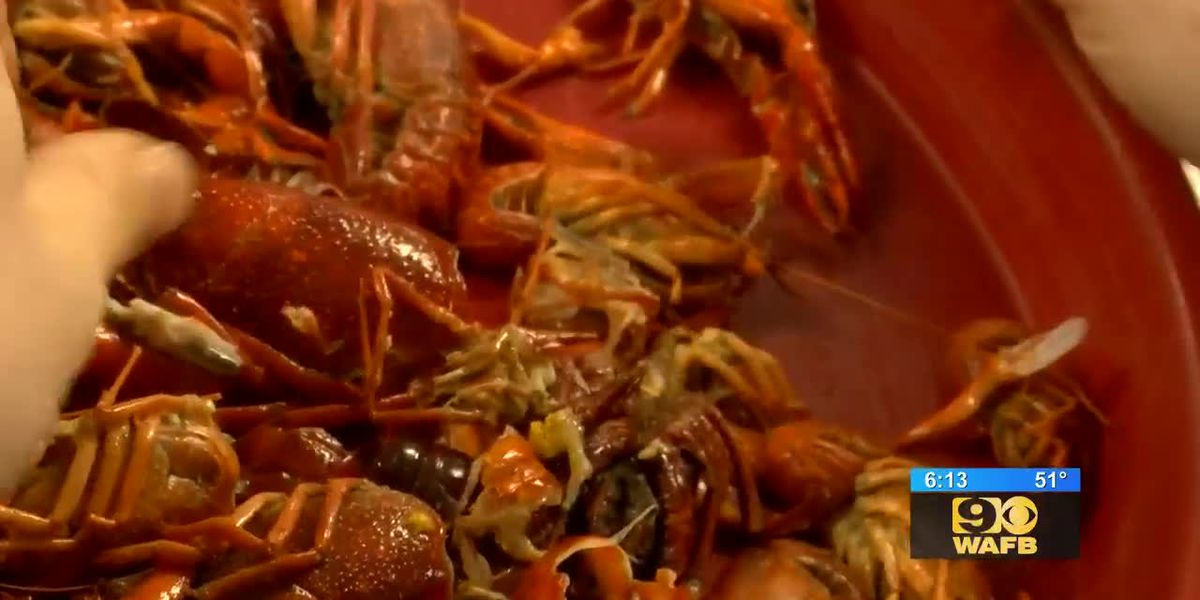 Some residents indulge on crawfish early this year