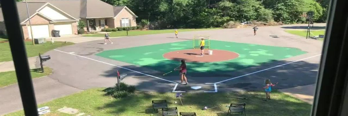 "Oak Grove neighborhood turns cul-de-sac into the ultimate ""sandlot"""