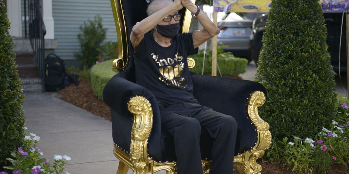 U.S. Coast Guard veteran celebrates 100th birthday in New Orleans